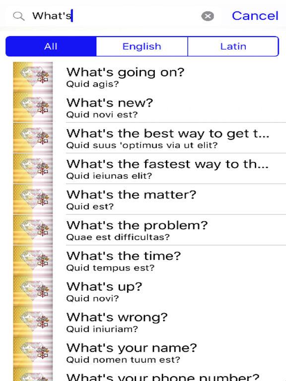 Latin Phrases Diamond 4K Edition screenshot 5