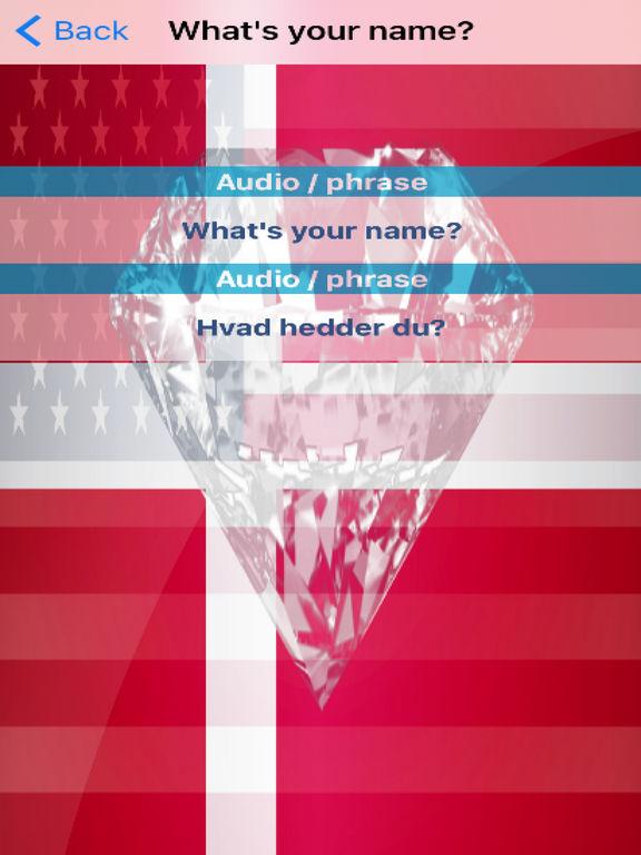Danish Phrases Diamond 4K Edition screenshot 6