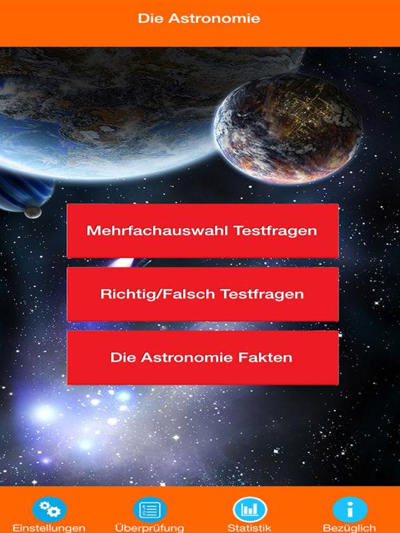 Die Astronomie Quiz screenshot 6