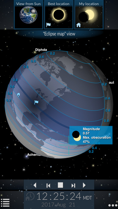 Solar Eclipse by Redshift screenshot 1