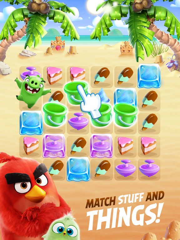 Angry Birds Match screenshot 7