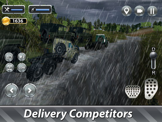 Cargo Trucks Offroad Driving Full screenshot 6