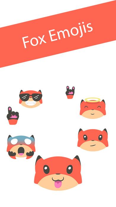 Fox Emojis screenshot 1