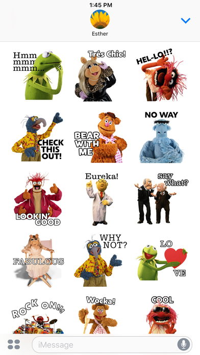 Disney Stickers: Muppets screenshot 4
