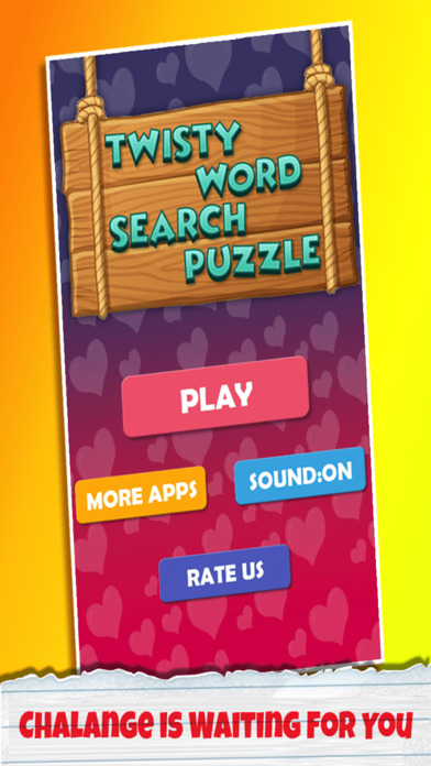 Twisty Word Search Puzzle Pro screenshot 1