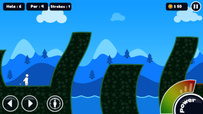 Stick Golf ® screenshot 2