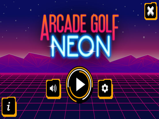 Arcade Golf: NEON screenshot 7