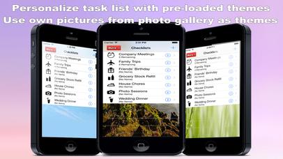 Best Checklist & Organizer (Pro Version-Ads Free) screenshot 3