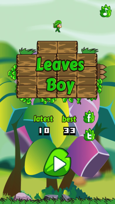 Leaves Boy screenshot 1