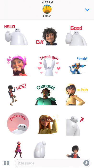 Disney Stickers: Big Hero 6 screenshot 4