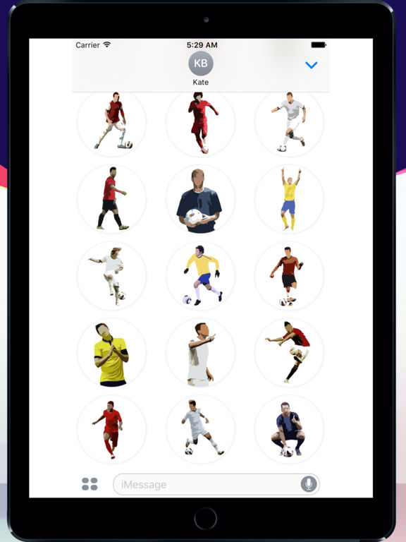 Football Master Sticker Pack screenshot 5