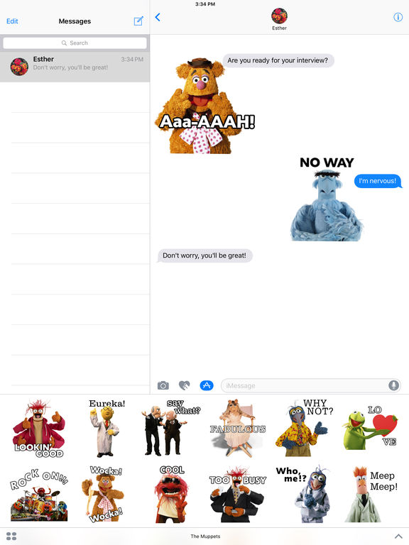 Disney Stickers: Muppets screenshot 7