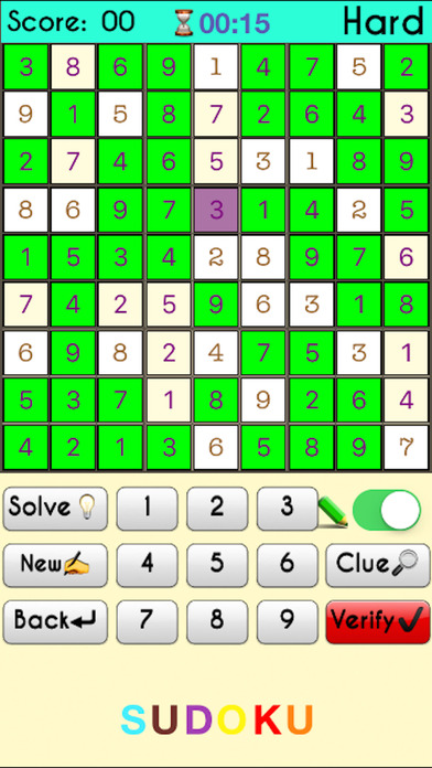 Complete Sudoku Puzzles 2- Full Featured Game screenshot 3