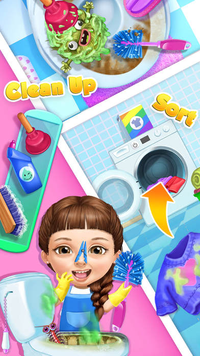 Sweet Baby Girl Cleanup 5 - No Ads screenshot 4