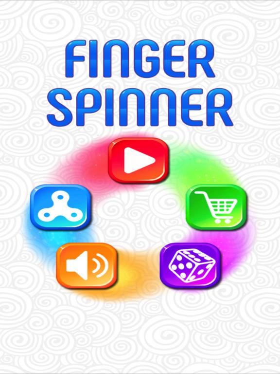 Finger Spinner ® screenshot 6