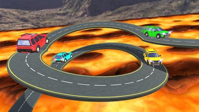 Impossible Lava Tracks screenshot 2