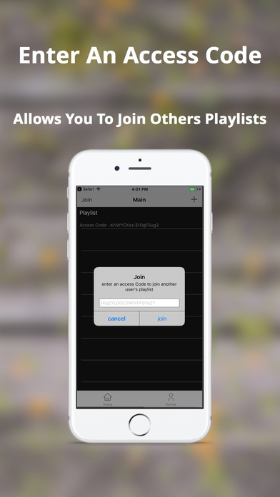 how to open iphone collab playlist on the app 1178
