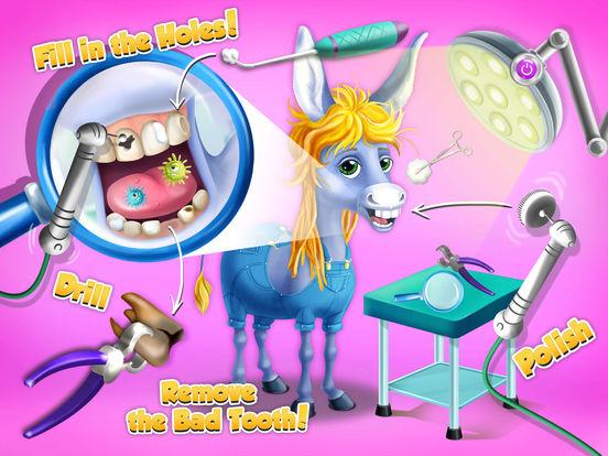 Farm Animals Hospital Doctor 3 - No Ads screenshot 9