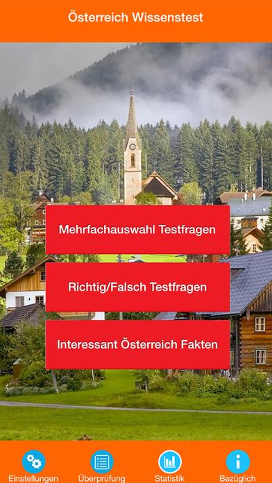 Österreich Wissenstests screenshot 1