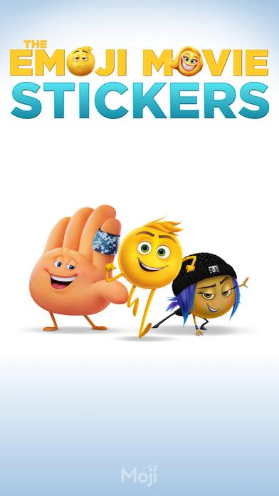 The Emoji Movie Stickers screenshot 1