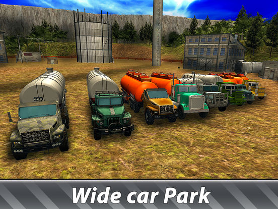 Oil Truck Offroad Driving Full screenshot 8