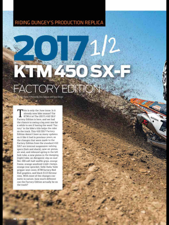 Dirt Rider Magazine screenshot 9