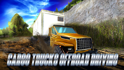 Cargo Trucks Offroad Driving Full screenshot 1