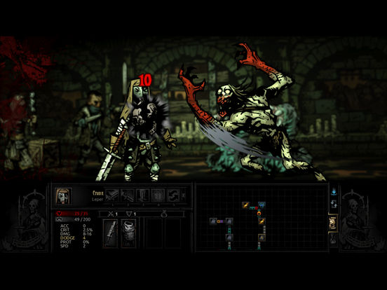 Darkest Dungeon:Tablet Edition screenshot 2