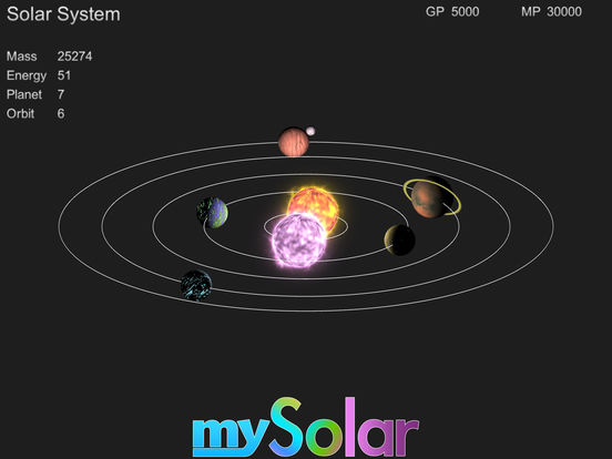 mySolar - Build your Planets screenshot 6