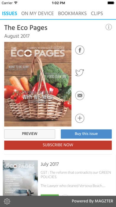 The Eco Pages screenshot 1
