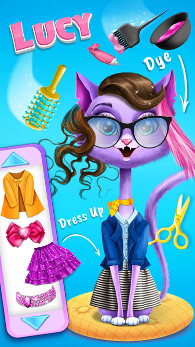 Farm Animals Makeover - Cute Virtual Pet Salon screenshot 5