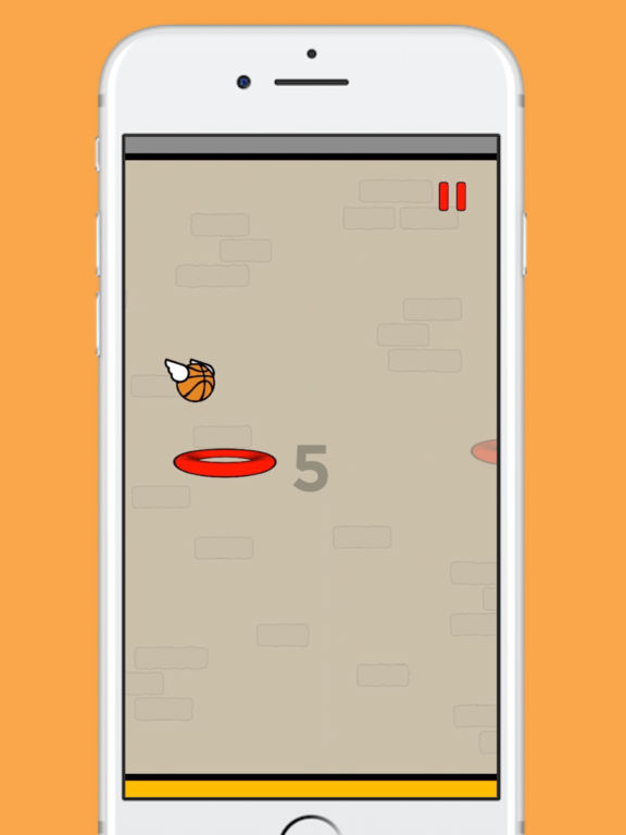 Flappy Dunk screenshot 6