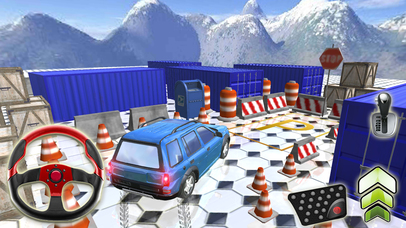 Extreme Prado City Parking Simulator screenshot 1