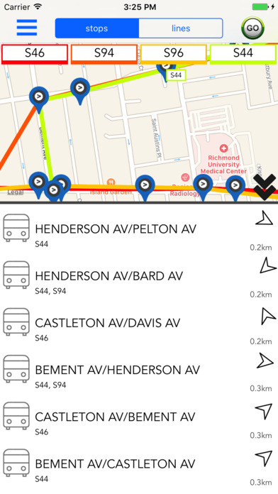 Staten Island Public Transport Guide screenshot 1