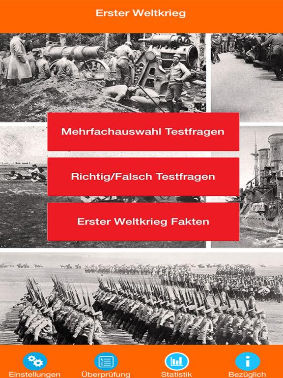 Der Erste Weltkrieg Quiz screenshot 6