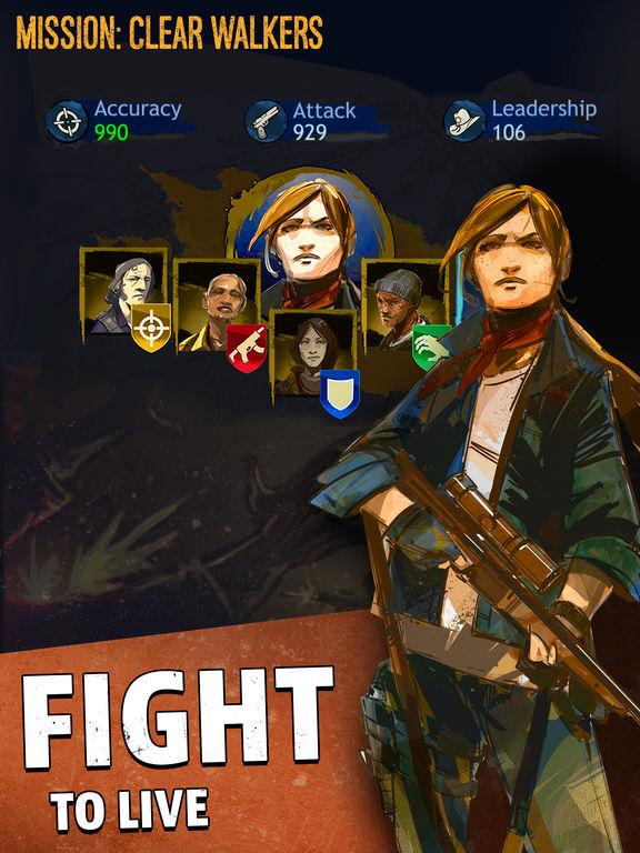 The Walking Dead: March To War screenshot #3