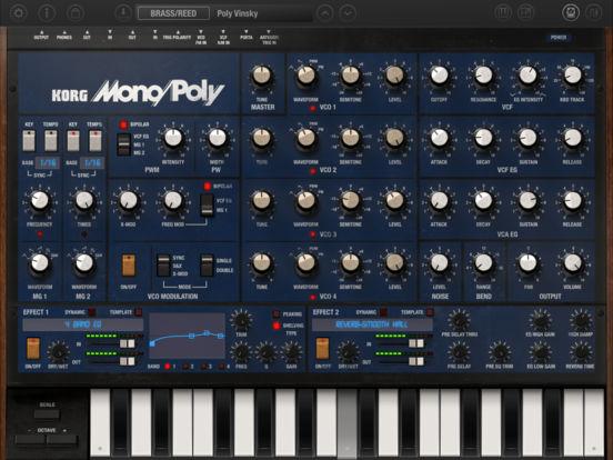 KORG iMono/Poly screenshot 8