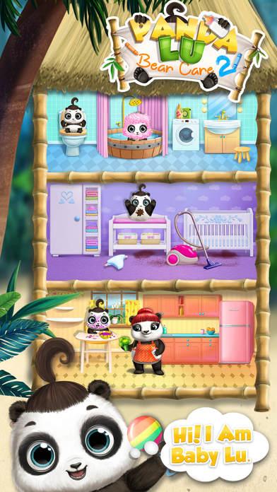 Panda Lu Baby Bear Care 2 - No Ads screenshot 1