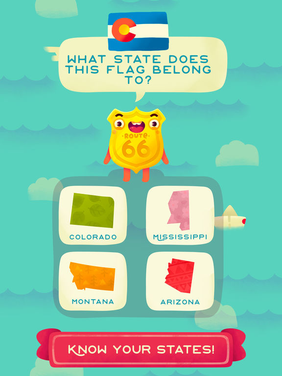 50 States (Ad Free) - Top Education Stack Games screenshot 7