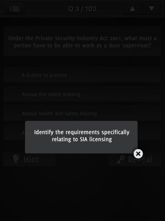 SIA Practice Exams - Mock test 2017 screenshot 10