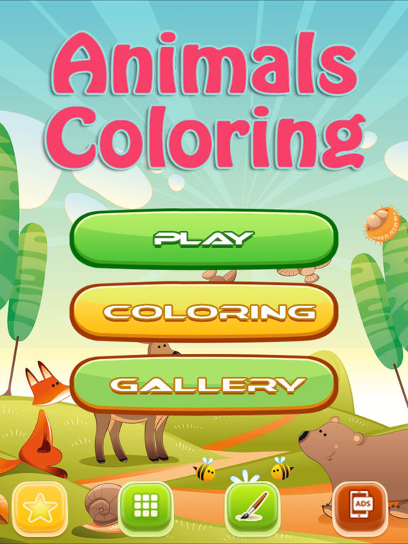 Animals Coloring : Draw, Paint for Kids screenshot 5