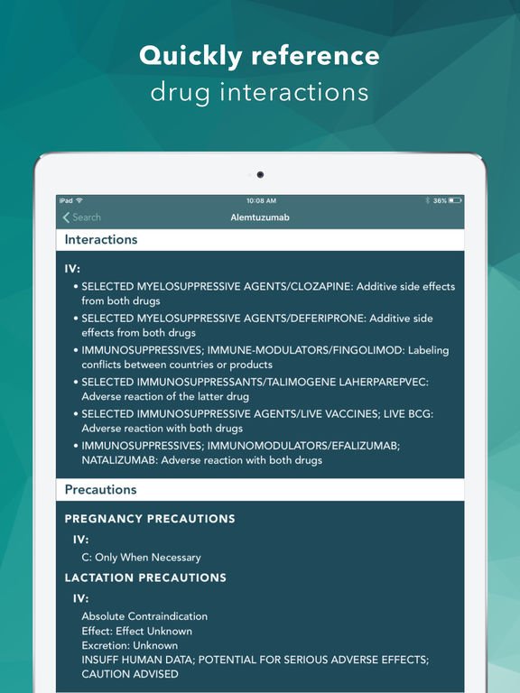 Drug Database screenshot 8
