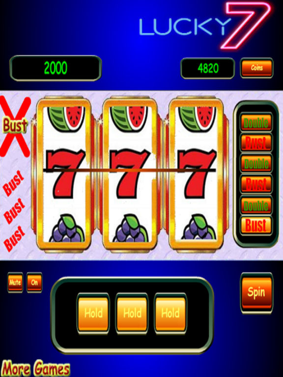 3D Double or Bust Vegas Slots - Unlimited Spins screenshot 2