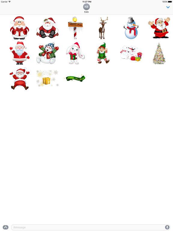 Stickers Set For Merry Christmas screenshot 7
