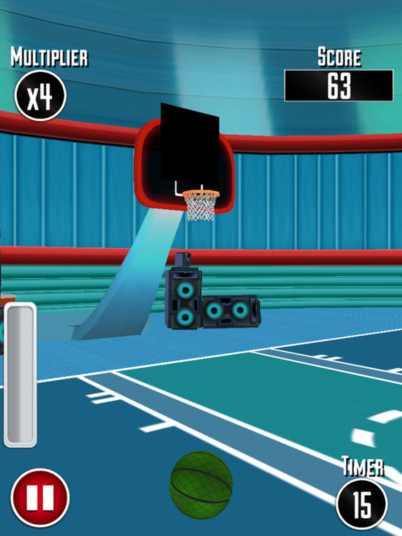 Basketball Dunk Challenge 3D screenshot 10