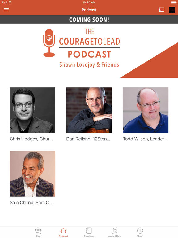 CourageToLead screenshot 5