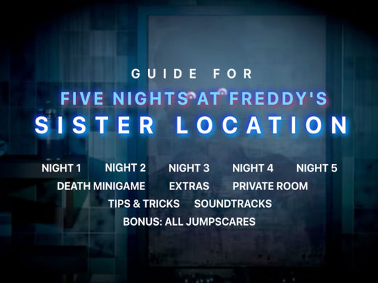 Pro Guide For FNAF Sister Location screenshot 2
