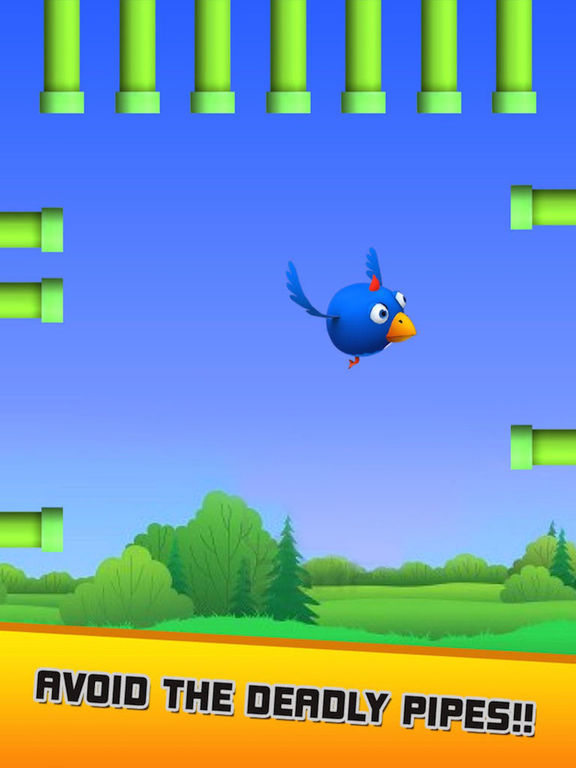 Hasty Bird - A Bird Flying Game screenshot 9