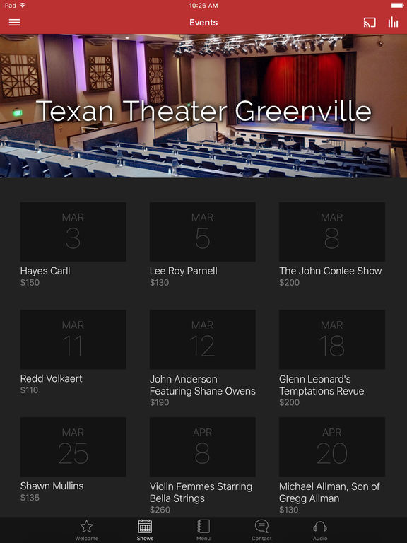 Texan Theater screenshot 3
