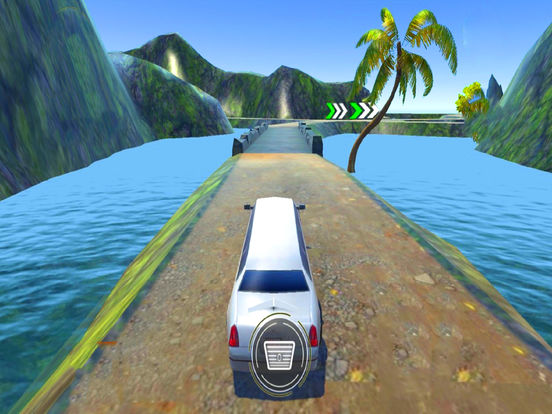 Off-Road Limo Hill Climber : 3D Car Par-king 2016 screenshot 5